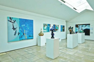 Main gallery view at ArtSway