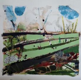 """""""Stone walls"""" by Annie Eagle"""